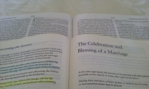 Marriage BCP